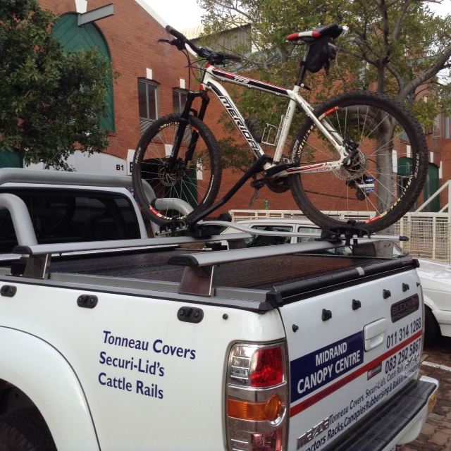 Roof Rack Ladder >> BICYCLE RACK