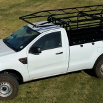 Cattle Rails with Bakkie Rack