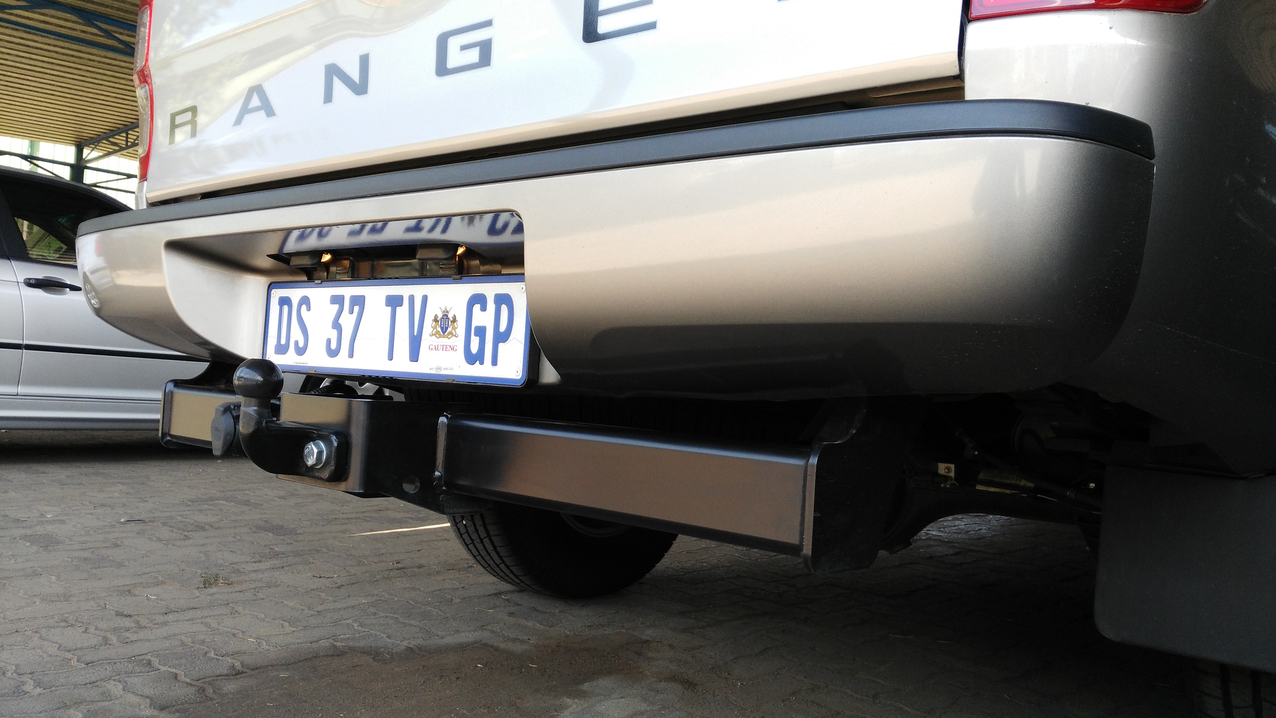 ... Ford Ranger Towbar – 2012 to current FOT6-12 Under Car Fixed Head –  Powder Coated – Towing ...