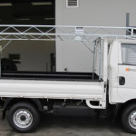 KIA 2700 GALVANIZED STEEL BAKKIE RACK