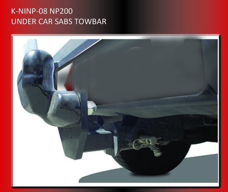 Towbars Fixed Head Double Tube Sabs Approved