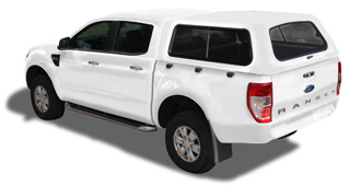 RANGER T6 DOUBLE CAB STD CANOPY  sc 1 st  Midrand Canopies & Ford Ranger Canopies | Best Quality | Fibre Glass | Steel | Aluminium