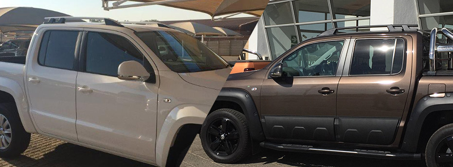 SPORTY ROOF RAILS VW AMAROK