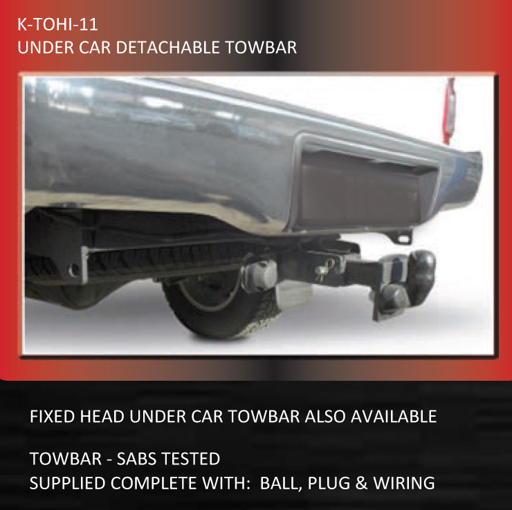 Tow bars fixed head double tube sabs approved hilux tohi 11towbar detachable under car asfbconference2016 Gallery