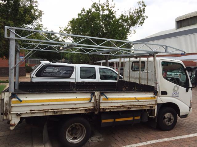 Toyota Dyna Truck Rack Galvanized Steel