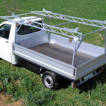 VW TRANSPORTER BAKKIE RACK