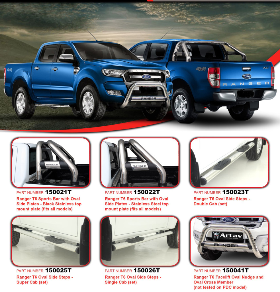 Nudge Bars Roll Bars and Bull Bars | Ranger | Hilux ...
