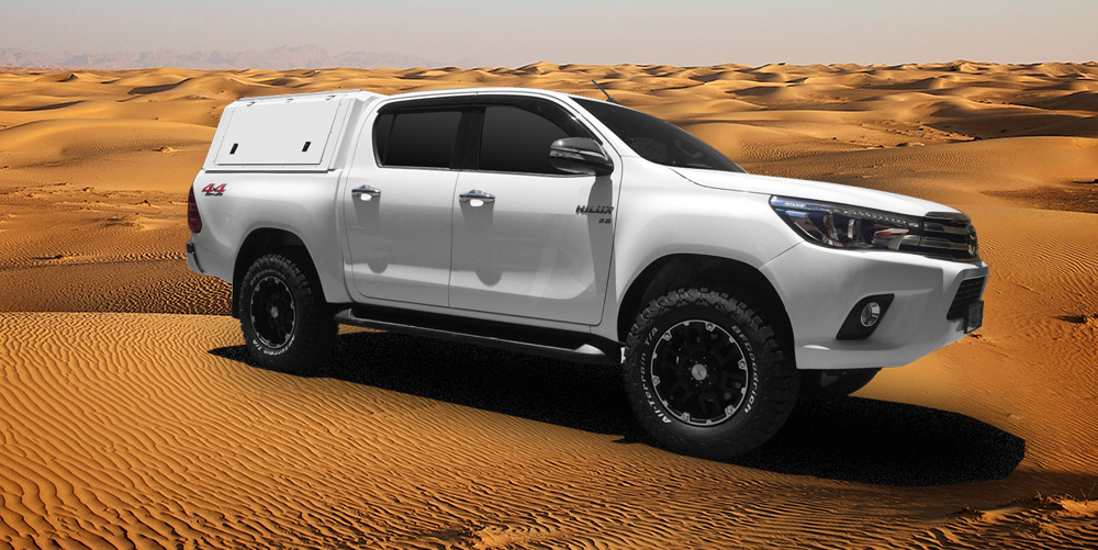 TOYOTA HILUX RSI STAINLESS STEEL CANOPY