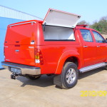 LOWLINE STEEL CANOPY HILUX DOUBLE CAB