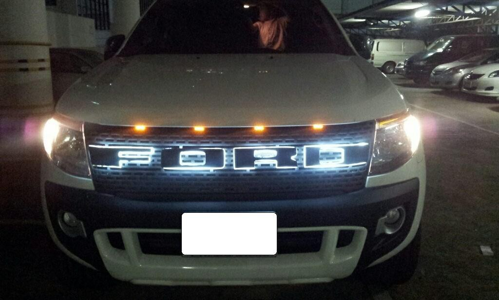White Ford Explorer >> Ford Ranger Raptor Grills | Led | White Black and Grey