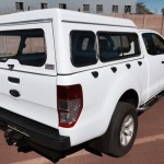 SUPERCAB HALFDOOR STEEL CANOPY WITH WINDOWS