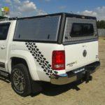 Amarok Double Cab Aluminium Canopy