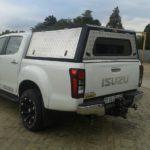 Isuzu Double Cab Aluminium Canopy