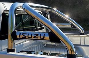 Isuzu KB Stainless Steel Rollbar