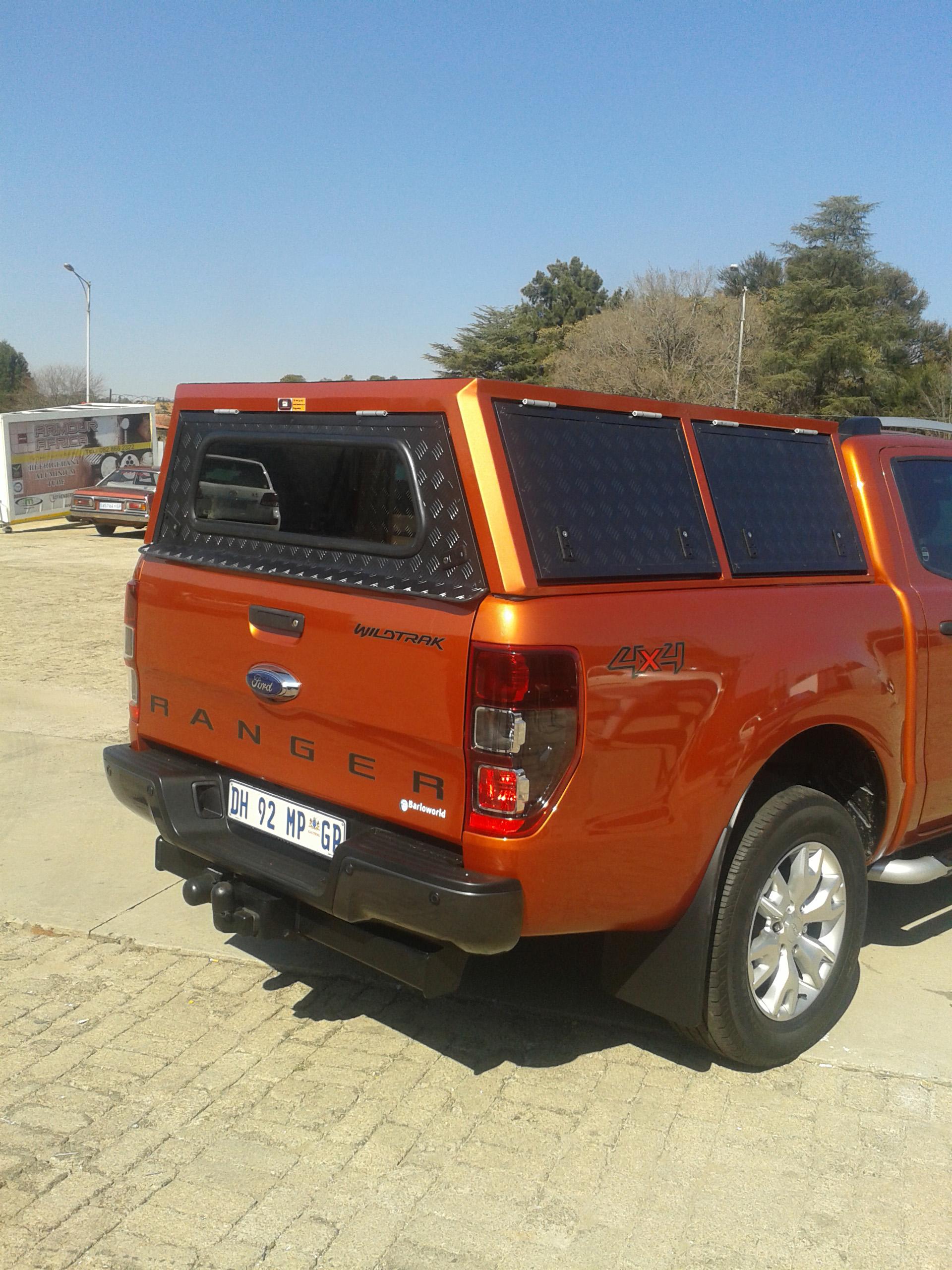 Aluminum Truck Canopy : Plain aluminium canopies great price call us