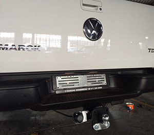 VW Amarok Under Bumper Towbar