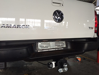 VW Amarok Under Bumper Towbar